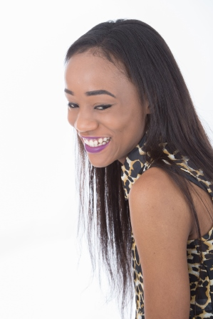Adelaide Nyoni Close Up - Model Shoot