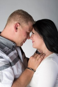 Bryce and Megan - Portrait Photography in Studio