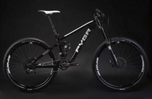 Pyga Mountain Bike - Black - Commercial Photographer