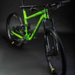 Pyga Mountain Bike - Green - Commercial Photographer