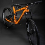 Pyga Mountain Bike - Orange - Commercial Photographer
