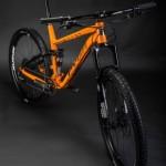 Pyga Mountain Bike - Orange - Commercial Photographer