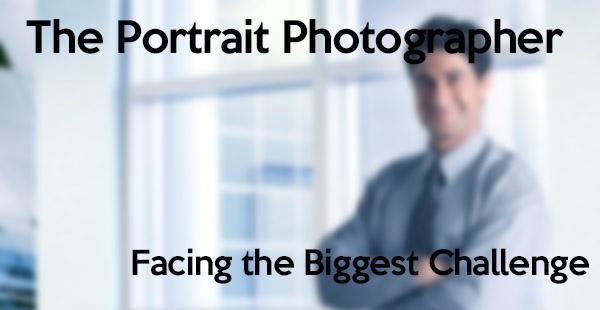 Portrait Photographer Challenge